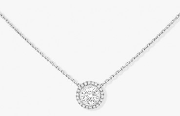 Messika » Jewellery » Solitaire Necklace » 08611-WG