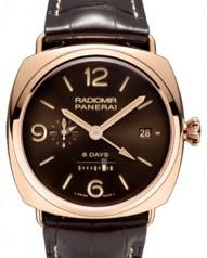 Officine Panerai » _Archive » 2012 Radiomir 8 Days GMT Oro Rosso » PAM00395