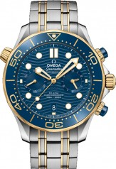Omega » Seamaster » Diver 300 m Omega Co-Axial Master Chronometer Chronograph 44 mm » 210.20.44.51.03.001
