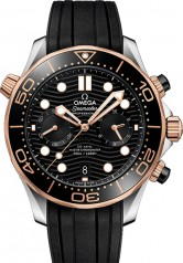 Omega » Seamaster » Diver 300 m Omega Co-Axial Master Chronometer Chronograph 44 mm » 210.22.44.51.01.001