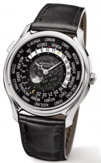 Patek Philippe » _Archive » 175th Commemorative Watches 5575 World Time Moon Limited Edition » 5575G-001