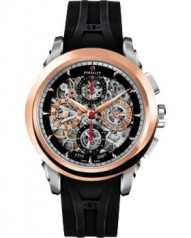 Perrelet » _Archive » Collection 2007 Celebrate Skeleton Chronograph Jubilee » A230