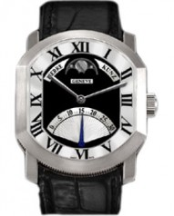 Pierre Kunz » Classic » Retrograde Seconds Moon Phase C007 HMRL » C007 HMRL WG Black