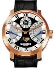 Pierre Kunz » Grande Complication » Retrograde Perpetual Calendar A003 QPR » A003 QPR RG Black