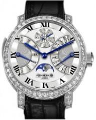 Pierre Kunz » Grande Complication » Tourbillon Minute Repeater Retrograde Rerpetual Calendar A1501 RM T QPR » A1501 RM T QPR.1 WG White