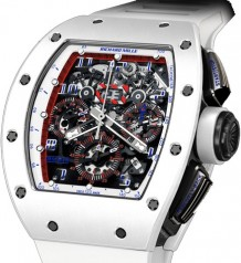 Richard Mille » Watches » RM 011 Ceramic NTPT Asia Limited Edition » RM 011 Ceramic Asia