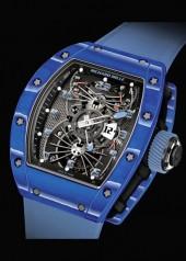Richard Mille » Watches » RM 022 Aerodyne Tourbillon Dual Time Zone » RM 022 Tourbillon Aerodyne Dual Time Blue