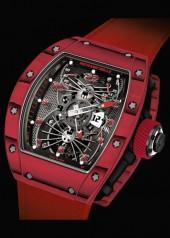 Richard Mille » Watches » RM 022 Aerodyne Tourbillon Dual Time Zone » RM 022 Tourbillon Aerodyne Dual Time Red