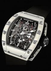 Richard Mille » Watches » RM 022 Aerodyne Tourbillon Dual Time Zone » RM 022 Tourbillon Aerodyne Dual Time White