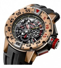 Richard Mille » Watches » RM 032 Chronograph Diver's » RM 032 Rose Gold