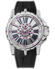 Roger Dubuis » _Archive » Excalibur Automatic EX39 » EX39 21 9-FFD 3BRD.7A Steel