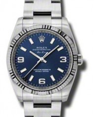 Rolex » _Archive » Air-King 34mm Steel and White Gold » 114234 blao