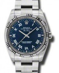 Rolex » _Archive » Air-King 34mm Steel and White Gold » 114234 blro