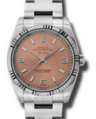 Rolex » _Archive » Air-King 34mm Steel and White Gold » 114234 pao