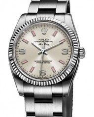 Rolex » _Archive » Air-King 34mm Steel and White Gold » 114234 Silver