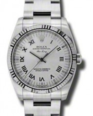 Rolex » _Archive » Air-King 34mm Steel and White Gold » 114234 sro