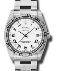 Rolex » _Archive » Air-King 34mm Steel and White Gold » 114234 wdo