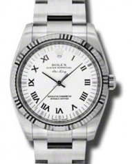 Rolex » _Archive » Air-King 34mm Steel and White Gold » 114234 wro