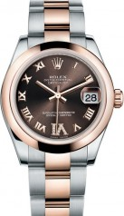 Rolex » _Archive » Datejust 31mm Steel and Everose Gold » 178241-0074