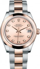 Rolex » _Archive » Datejust 31mm Steel and Everose Gold » 178241-0033
