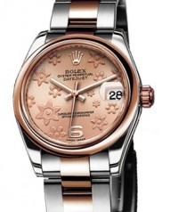 Rolex » _Archive » Datejust 31mm Steel and Everose Gold » 178241 Pink Floral