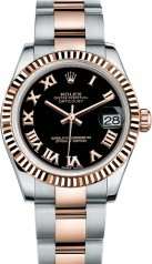 Rolex » _Archive » Datejust 31mm Steel and Everose Gold » 178271-0069