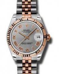 Rolex » _Archive » Datejust 31mm Steel and Everose Gold »  178271 grj