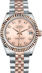 Rolex » _Archive » Datejust 31mm Steel and Everose Gold » 178271-0034