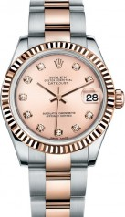 Rolex » _Archive » Datejust 31mm Steel and Everose Gold » 178271-0045