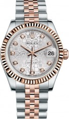 Rolex » _Archive » Datejust 31mm Steel and Everose Gold » 178271-0024