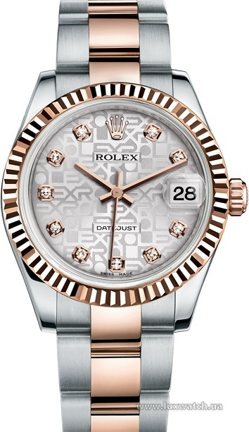 Rolex » _Archive » Datejust 31mm Steel and Everose Gold » 178271-0043