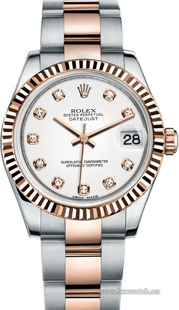 Rolex » _Archive » Datejust 31mm Steel and Everose Gold » 178271-0039