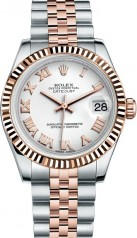 Rolex » _Archive » Datejust 31mm Steel and Everose Gold » 178271-0067