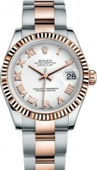 Rolex » _Archive » Datejust 31mm Steel and Everose Gold » 178271-0066