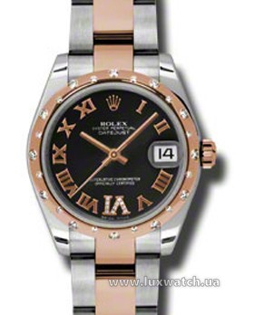 Rolex » _Archive » Datejust 31mm Steel and Everose Gold » 178341 bkdro