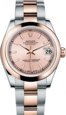 Rolex » _Archive » Datejust 31mm Steel and Everose Gold » 178241-0001