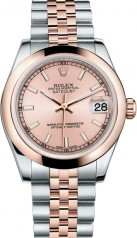 Rolex » _Archive » Datejust 31mm Steel and Everose Gold » 178241-0005