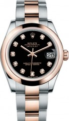 Rolex » _Archive » Datejust 31mm Steel and Everose Gold » 178241-0015