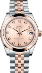 Rolex » _Archive » Datejust 31mm Steel and Everose Gold » 178241-0023