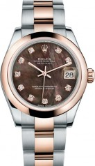 Rolex » _Archive » Datejust 31mm Steel and Everose Gold » 178241-0025