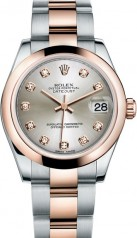 Rolex » _Archive » Datejust 31mm Steel and Everose Gold » 178241-0029