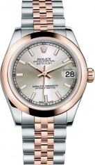 Rolex » _Archive » Datejust 31mm Steel and Everose Gold » 178241-0037