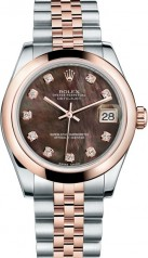 Rolex » _Archive » Datejust 31mm Steel and Everose Gold » 178241-0043