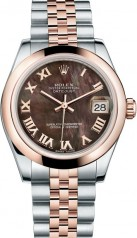Rolex » _Archive » Datejust 31mm Steel and Everose Gold » 178241-0047