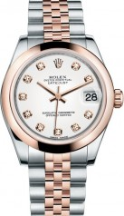 Rolex » _Archive » Datejust 31mm Steel and Everose Gold » 178241-0048