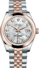 Rolex » _Archive » Datejust 31mm Steel and Everose Gold » 178241-0058