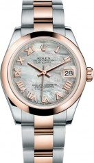Rolex » _Archive » Datejust 31mm Steel and Everose Gold » 178241-0059