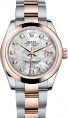 Rolex » _Archive » Datejust 31mm Steel and Everose Gold » 178241-0060