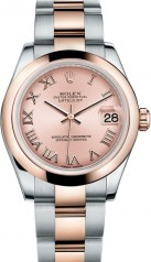 Rolex » _Archive » Datejust 31mm Steel and Everose Gold » 178241-0063