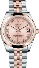 Rolex » _Archive » Datejust 31mm Steel and Everose Gold » 178241-0064